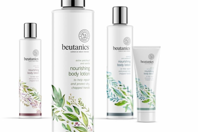 Beutanics Concept With Images Body Lotion Packaging Shampoo