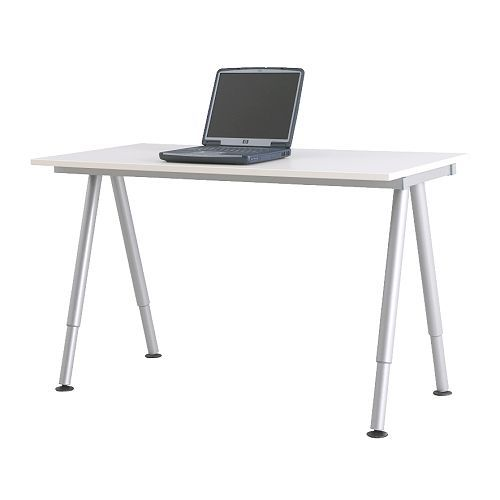 ikea white office desk. IKEA - GALANT, Desk, A-leg, , 10-year Limited Warranty Ikea White Office Desk A
