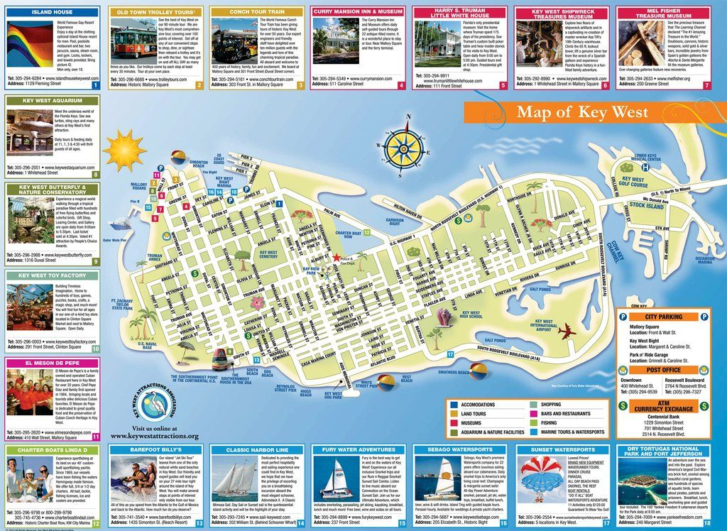 Map Of Key West Florida Streets.Key West Tourist Map Vacations In 2019 Key West Map