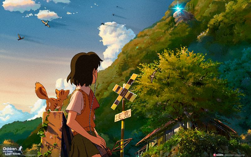 Children Who Chase Lost Voices by Makoto Shinkai Viaje a