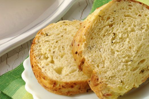 Crusty Parmesan Cheese Bread Ring