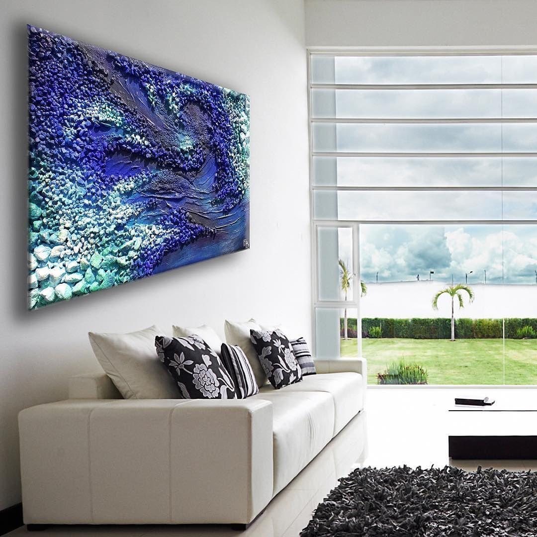 Gimme some blue! Pebble art decor wall sculpture by FraBor - Print available at http://etsy.me/2diyRHO #reef #ocean #oceanart #beyondthesea #beachart #abstract #abstractart #textured #acrylicpainting #print #etsyhunter #etsyelite #etsyscout #craftsposure #handmade #smallshop #etsy #etsyseller #etsyartist #etsyaddict #welovecollect #artoftheday #handmadeart #artsandcrafts #painting #homedecor #modernart #walldecor #homestyle #homeinspiration