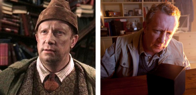 Mark Williams As Ron S Father Arthur Weasley And Rory S Father In Dinosaurs On A Spaceship And The Power Of Mark Williams Actor Arthur Weasley William Actor