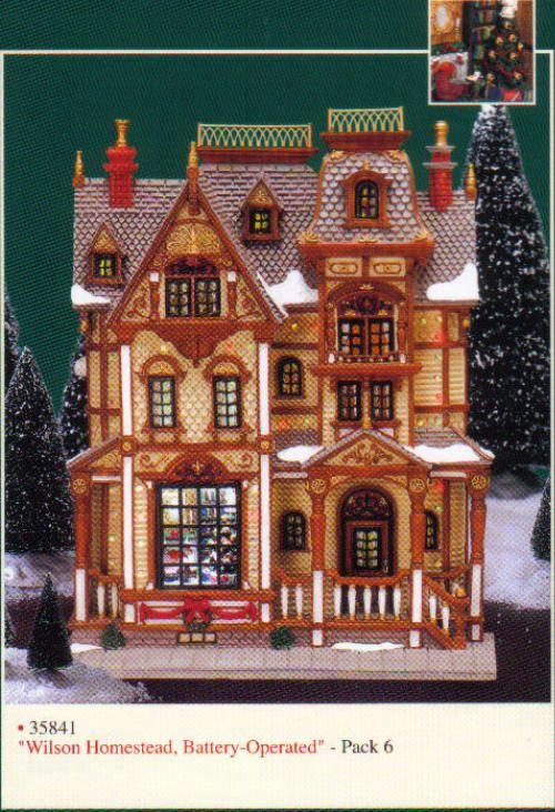 Lemax Wilson Homestead Facade Lemax Christmas Village