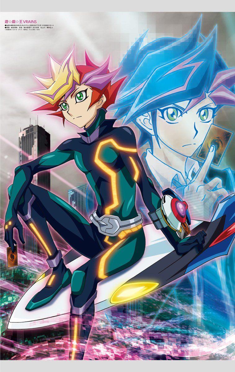 "darkxyzduelist ""Vrains poster for Animedia's June edition"