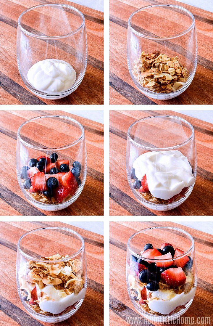 Easy Yogurt Parfait
