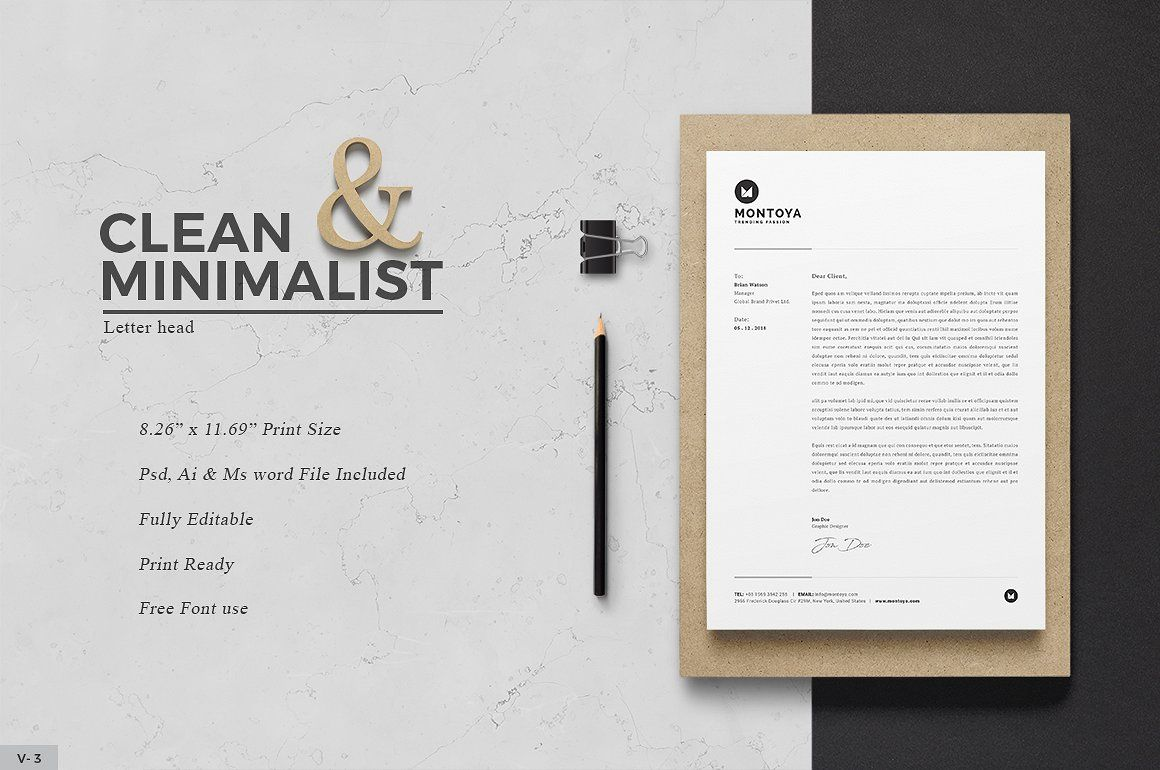 Letterhead By Themedevisers On Creativemarket  Maine Legal