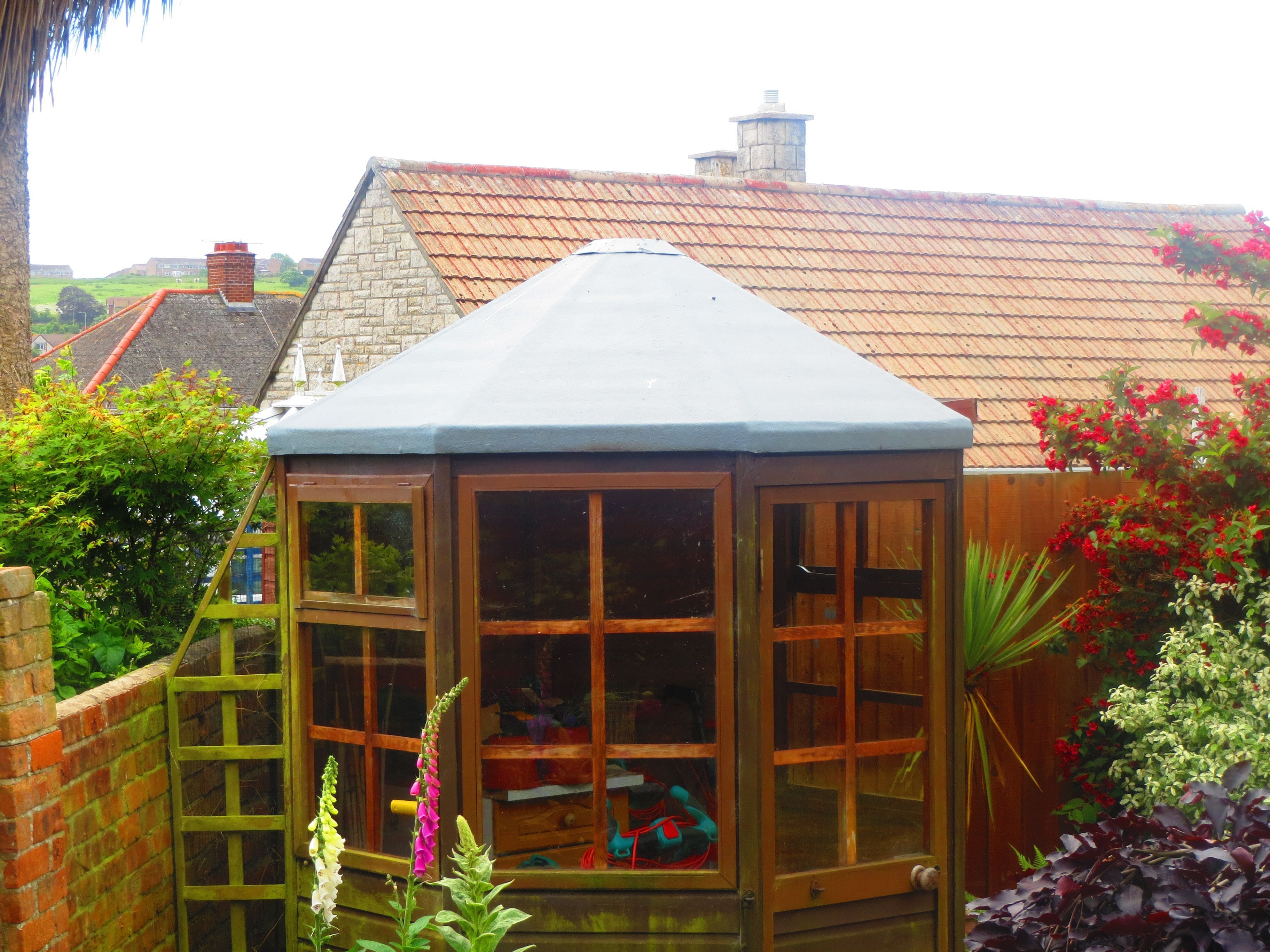 Grp fibre glass roof shed roof roofingdesign roofingideasexterior
