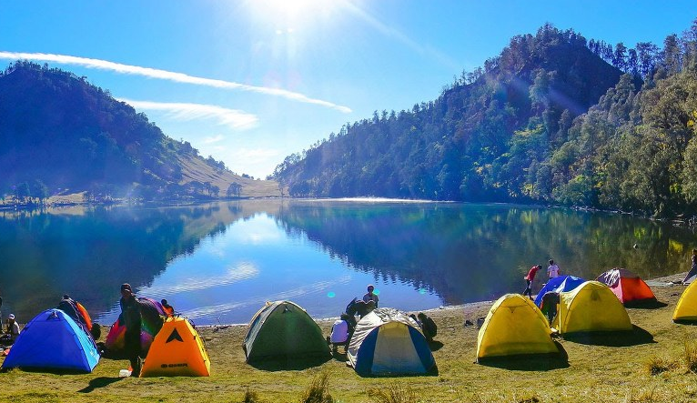 Gunung Semeru Ranu Kumbolo Di 2020 Pemandangan Pantai Cenang Taman Nasional