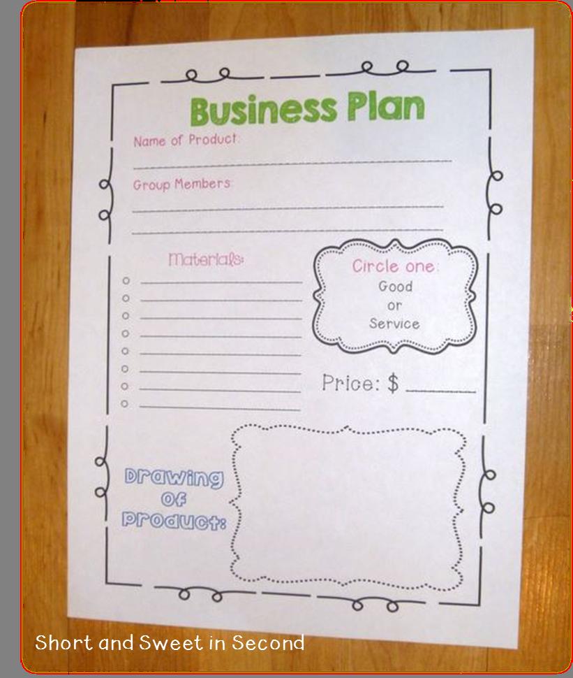 Economics Unit: Business Plan | Education | Pinterest ...