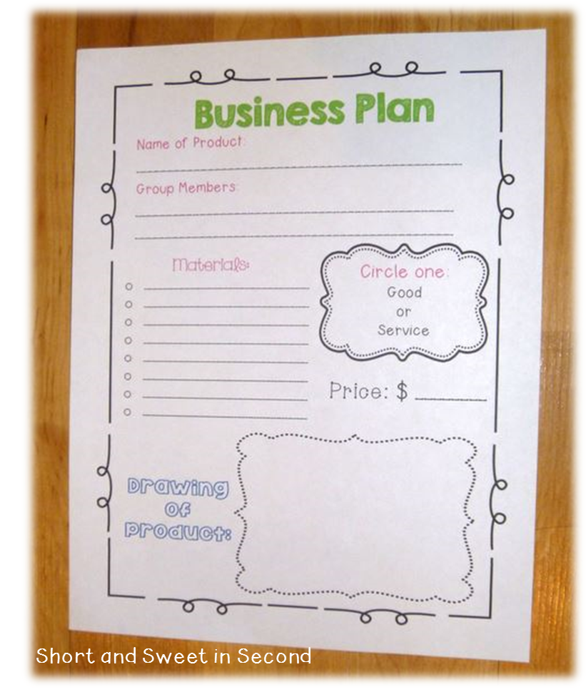 Economics Unit: Business Plan | Education | Business plan