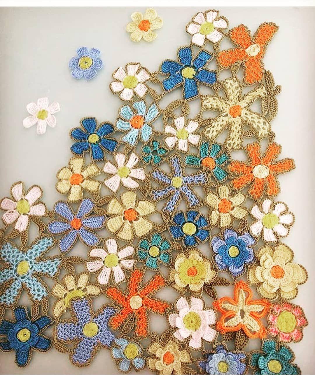 #handmade #elişi#ortu #otantik #perde #balkondekorasyonu #bahçemobilyası #bahçede#dekor #dekorasyon #evdekoru #tığişi #örgü #dantel #tarz…