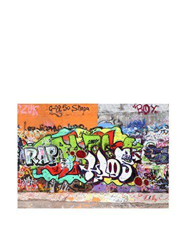 Papier peint photo graffiti wall 400x280cm enfants art je - Peinture mural pas cher ...