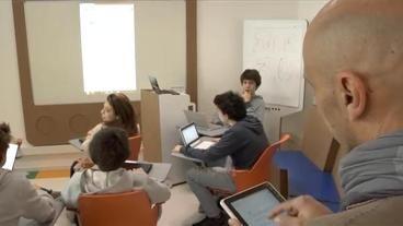 La scuola del futuro, ad Ancona l'aula 3.0 «Tablet