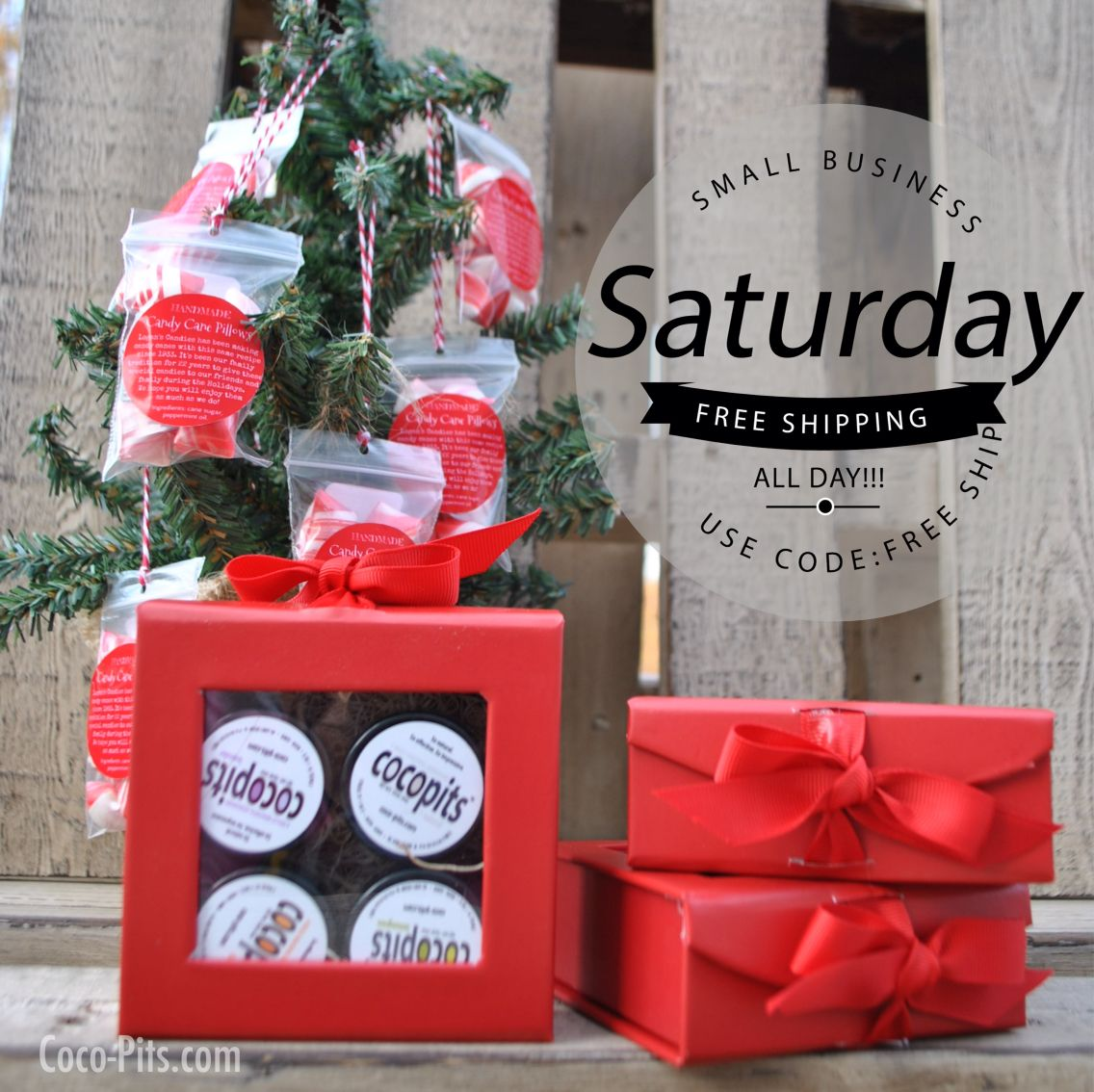 FREE Shipping For Small Business Saturday! Use Code