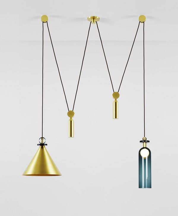 Shape Up Lighting By Ladies Gentlemen Studio Suspension Lamp