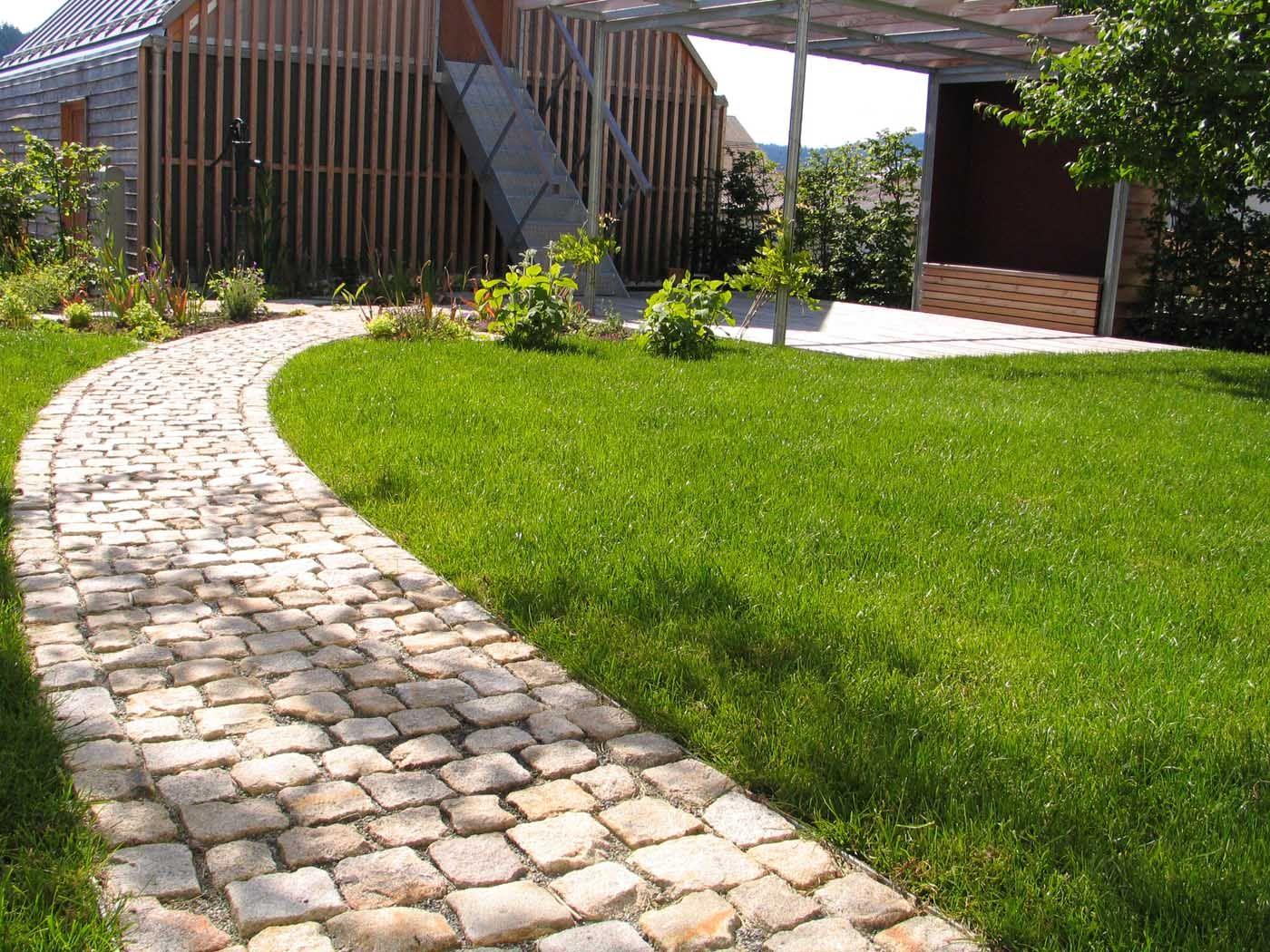 Gartenweg einfassung jpg 1 400x1 050 pixel gartenwege und terrassen pinterest