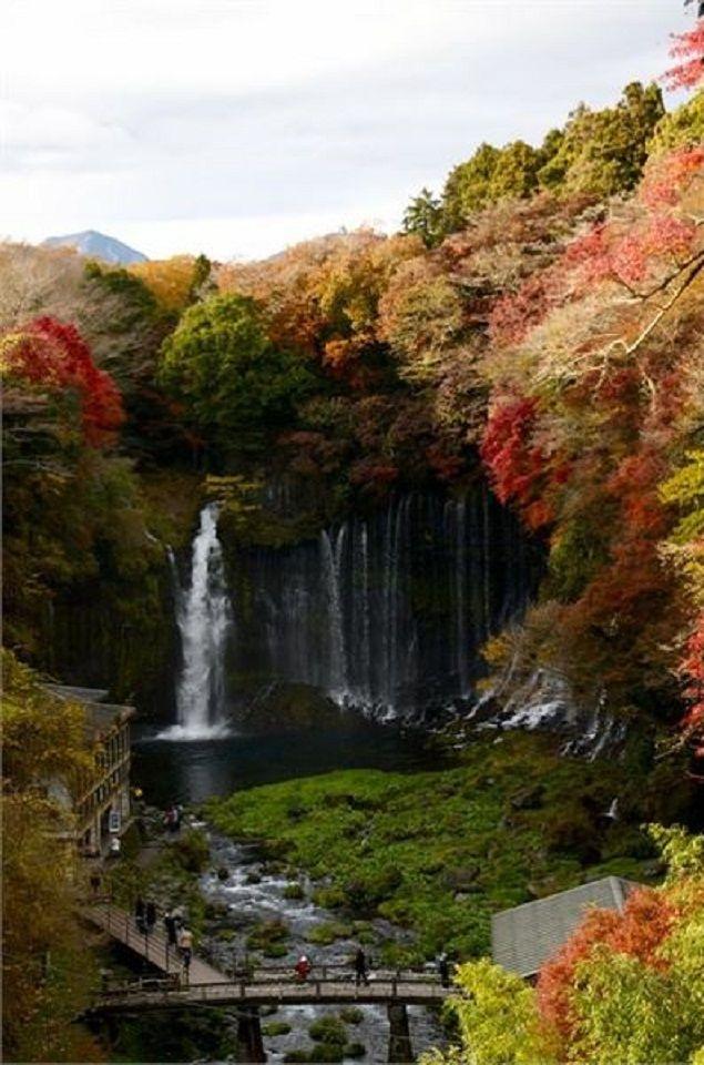 Shiraito Falls in Japan