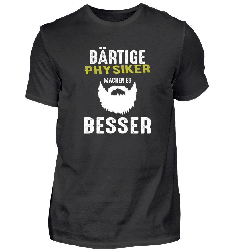 Physiker Bart Beard Geschenk Physiker