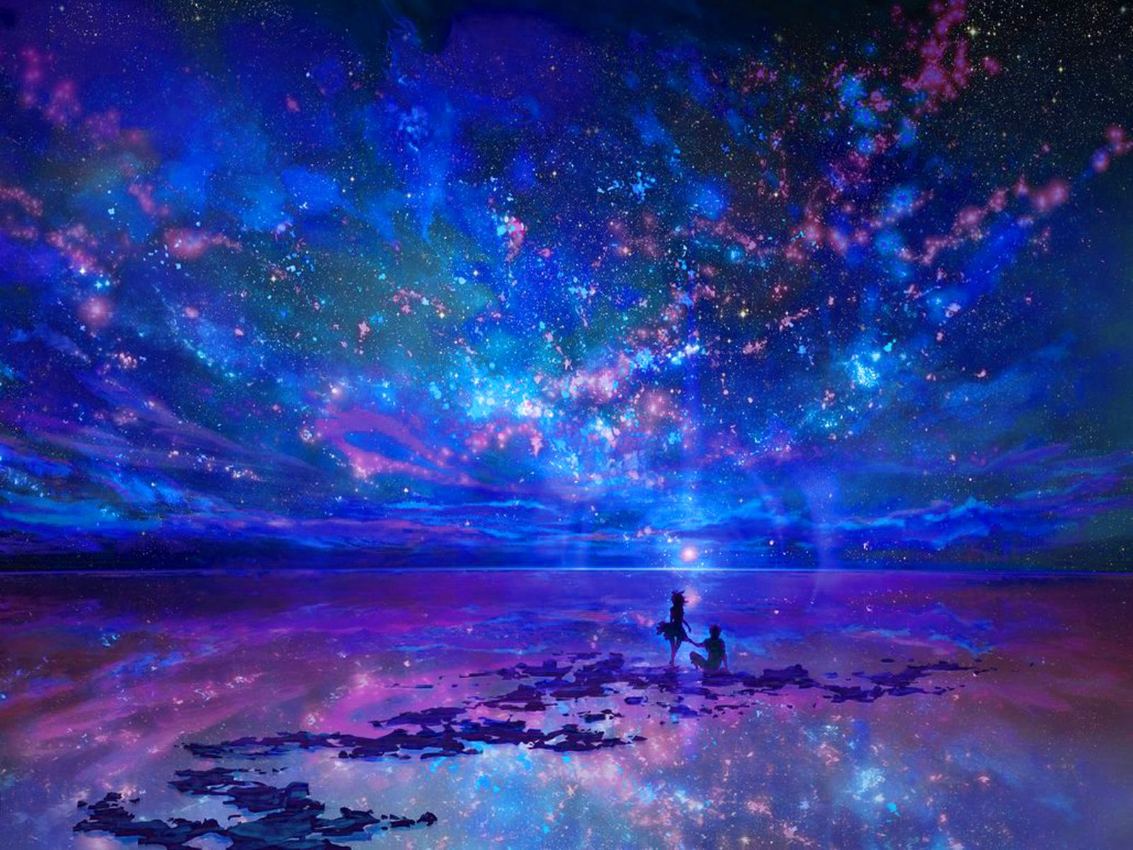 Bleu Edin. Fantasy land scapes | Fantasy Landscape Wallpaper/Background 1600 x 1200 - Id: 344676 ... B