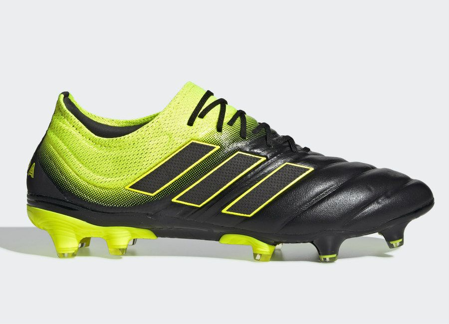4b63aaed1 Adidas Copa 19.1 FG Exhibit - Core Black / Solar Yellow / Core Black  #adidasfootball #footballboots