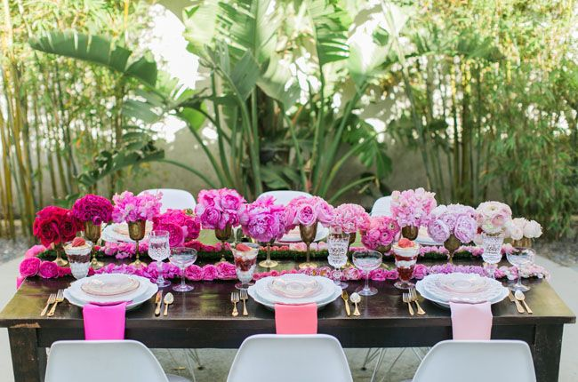 96316f5044f Pink Ombre Bridal Shower Inspiration