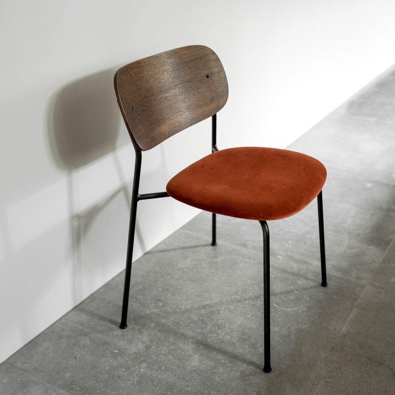 chaise co chair assise tissu menu