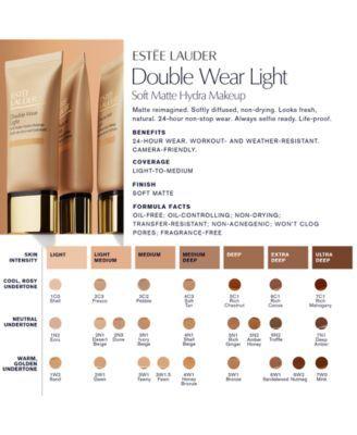 Estee Lauder Double Wear Light Soft Matte Hydra Makeup 1