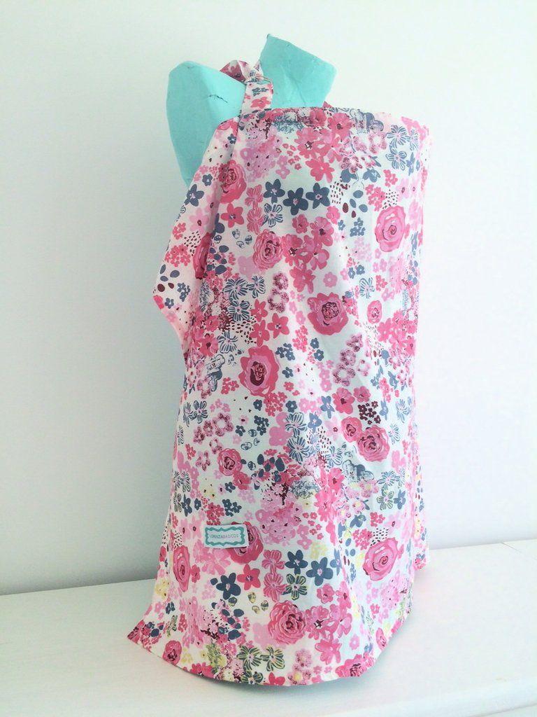 Cobertor para Amamantar Flores - Lorenza Basicos