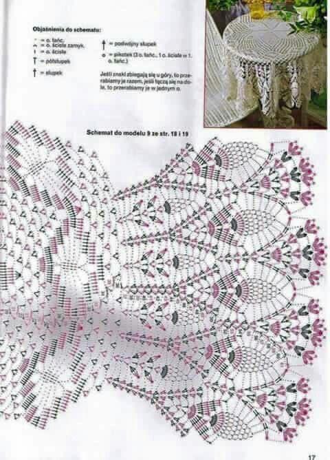 Pin de Marianna Garrett en Doilly crochet | Pinterest | Mantel ...