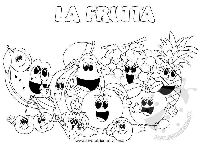 Frutta Disegni Da Colorare Per Bambini Scuola Disegni Disegni