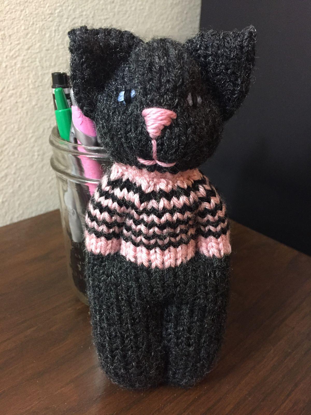 Animal Comfort Dolls Pattern By Pk Olson Knit Crochet Animals