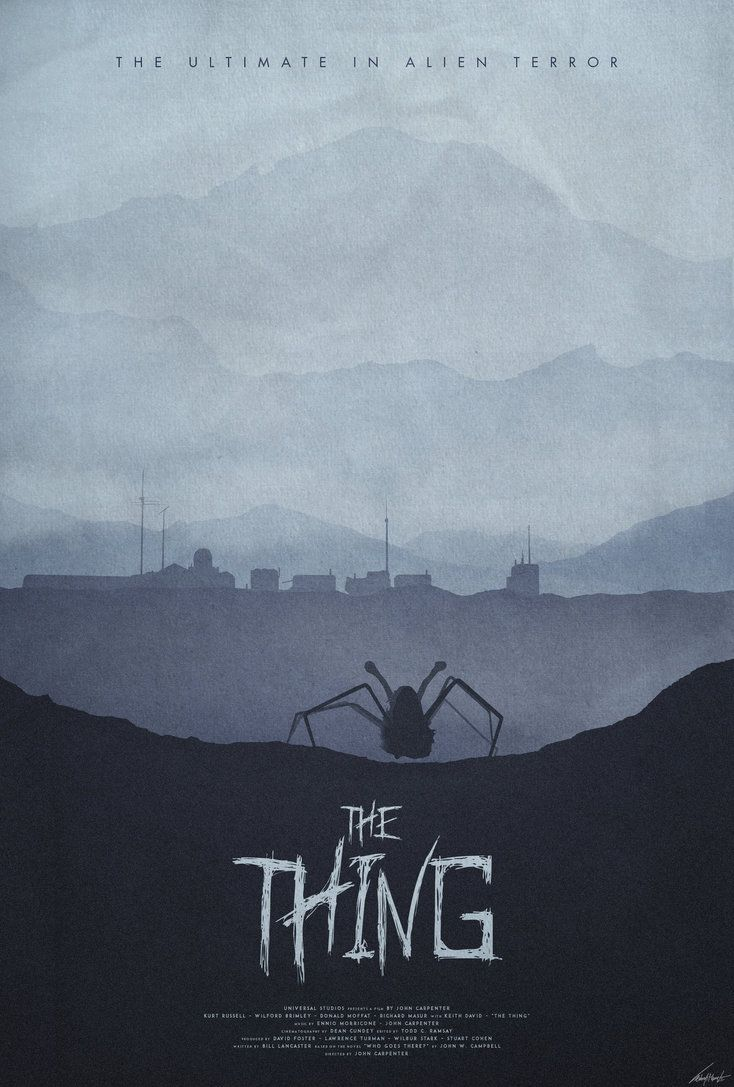 Image result for the thing 1982 poster
