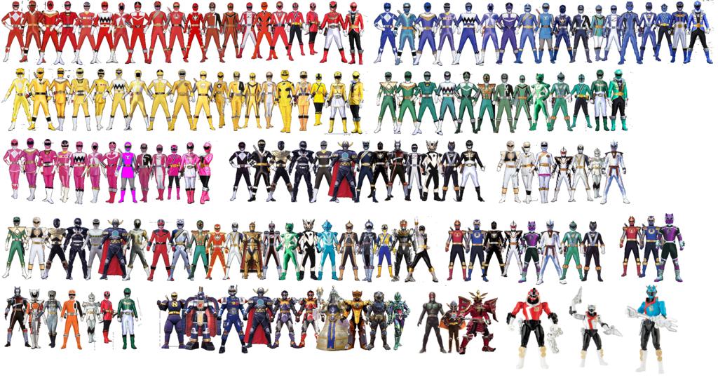 Power Rangers Super Megaforce Ranger Keys 024 542 Pixels Tamanho
