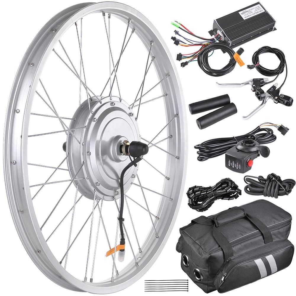 Yescom 24 Front Wheel Electric Bicycle Motor Kit 36v 750w Electric Bicycle Conversion Kit Electric Bike Conversion Electric Bicycle