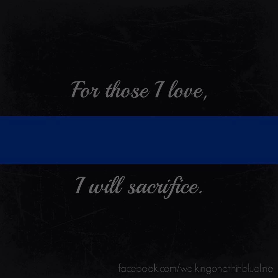Thin Blue Line Texas State Support the Police Decal//Sticker sacrifice Law