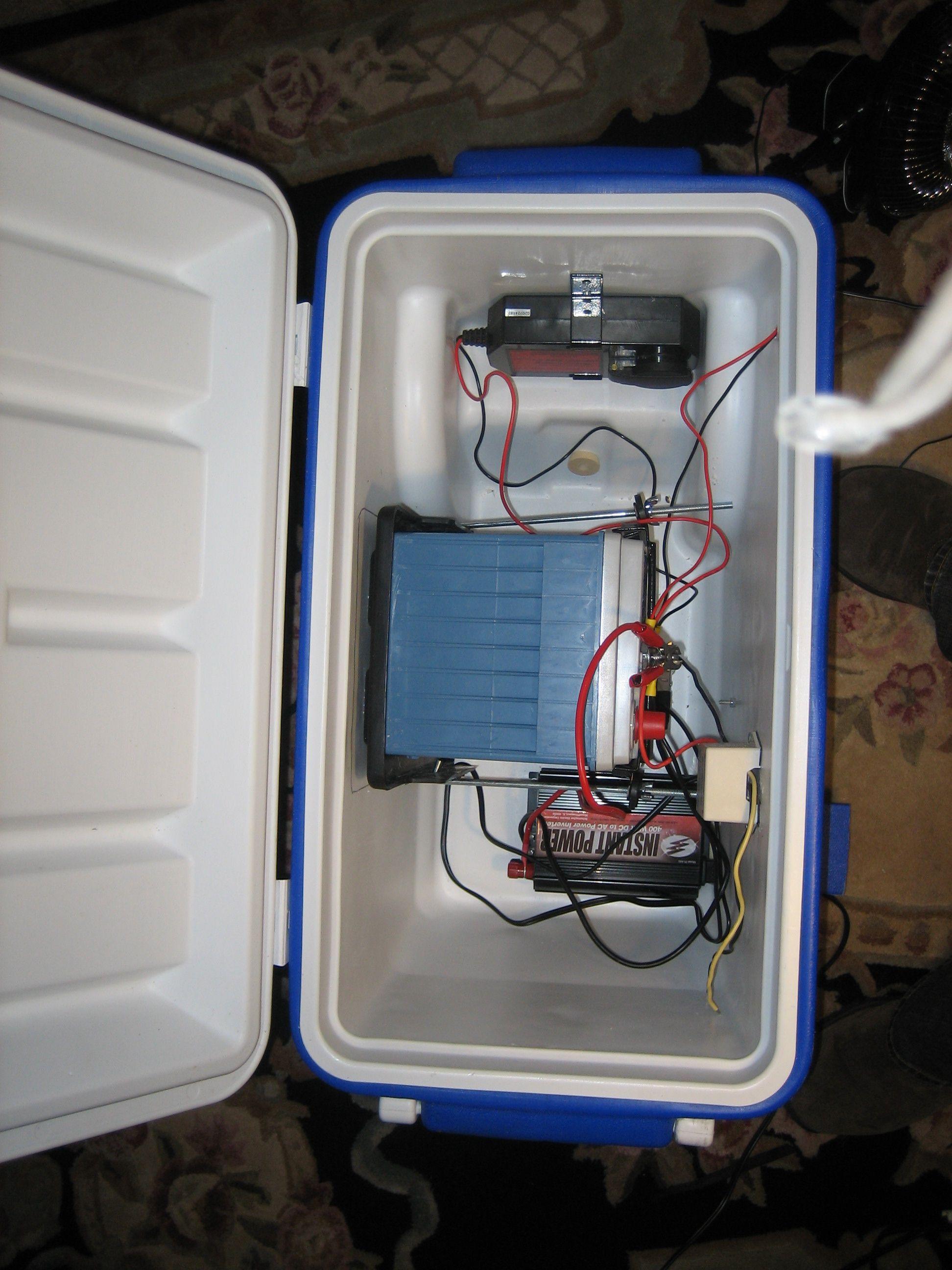 Diy Portable Solar Generator Diagram By Solarburritocom