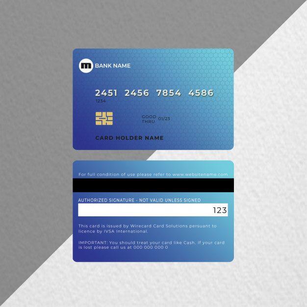 Credit Card Or Bank Card