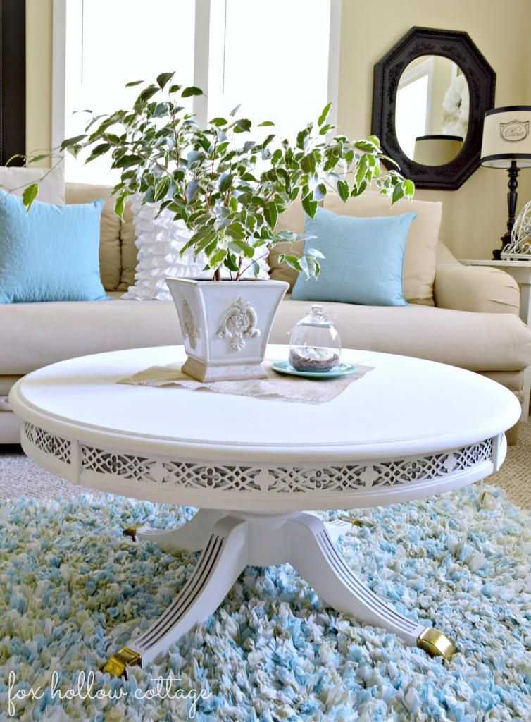Best Maison Blanche Painted Table Makeover Furniture Makeover 400 x 300