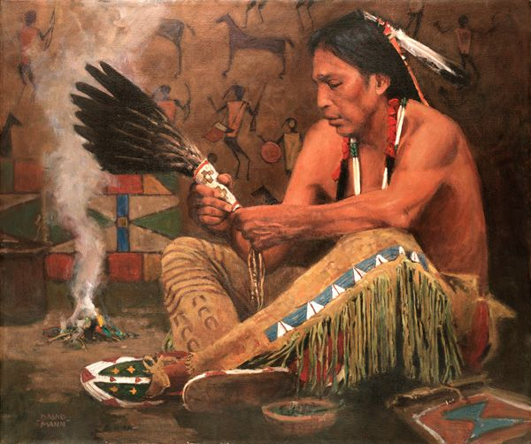 artist david mann biography | David Mann–a profile about his Native American paintings ...۩༒ᵵʈʂҽɦ༒۩
