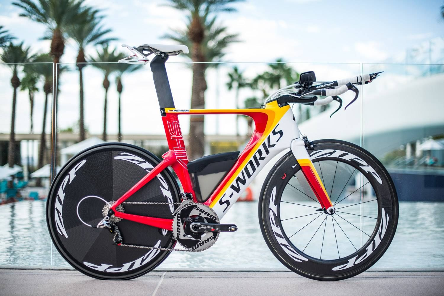 Jan Frodeno S Specialized Shiv Ironman 70 3 World Championship