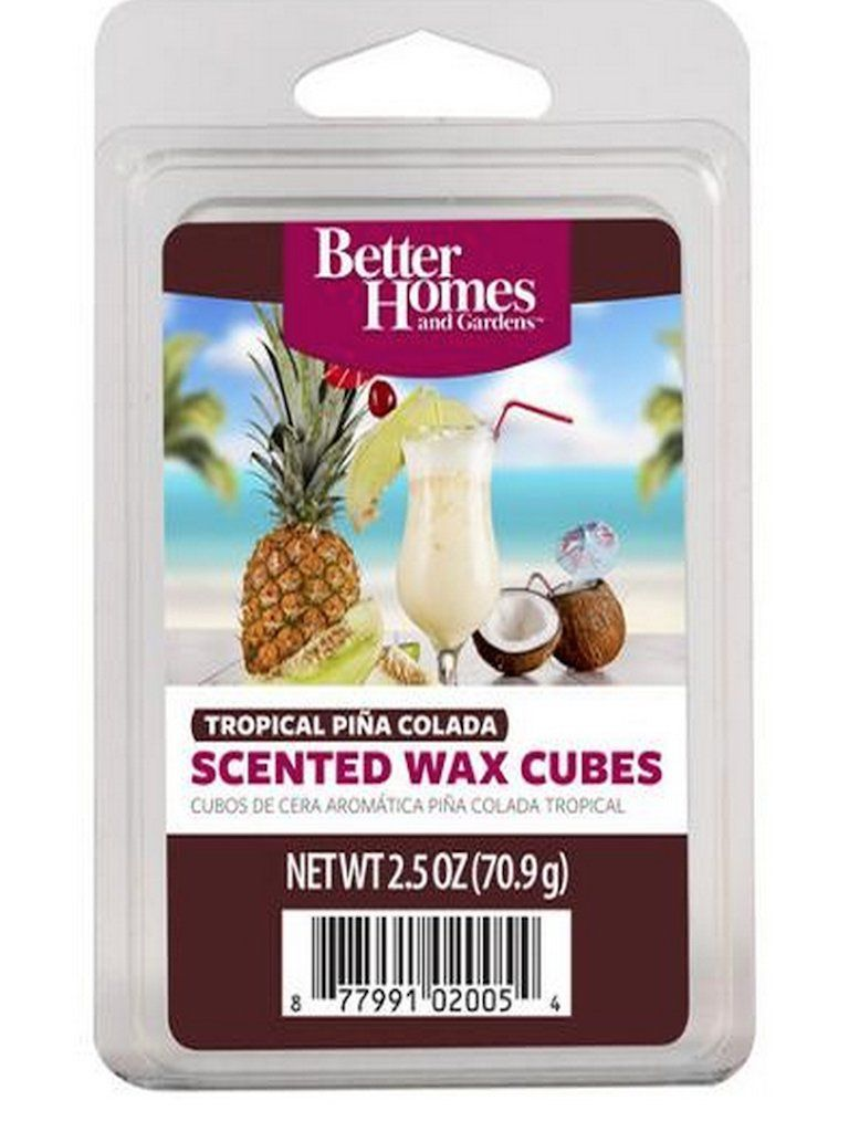 excellent better homes and gardens scented wax cubes. Better Homes and Gardens Tropical Pina Colada Wax Cubes  Good