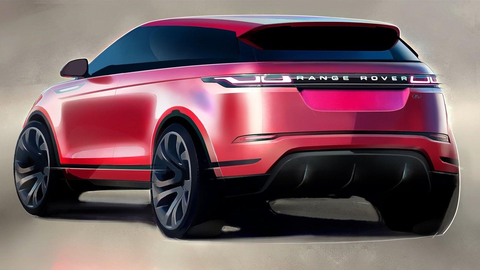 2019 Range Rover Evoque в 2020 г Роскошные автомобили