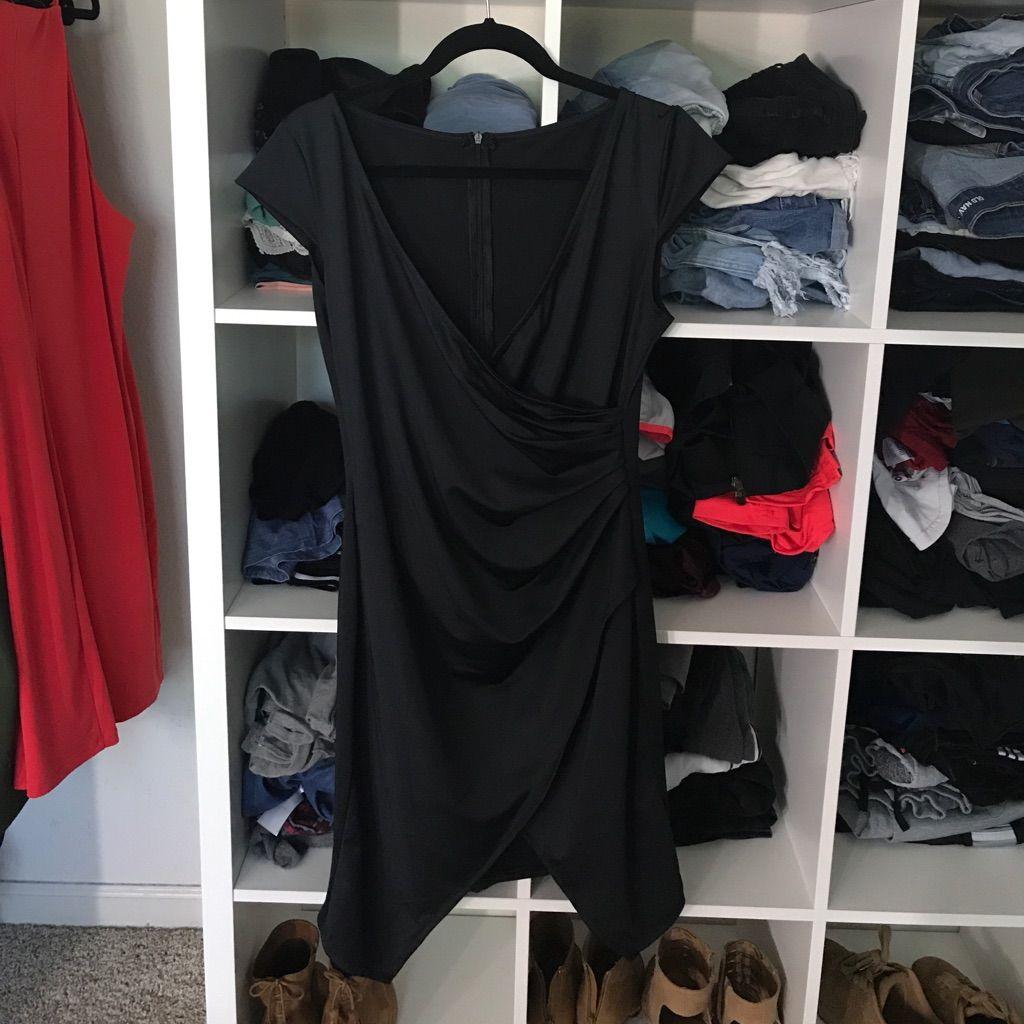Black slit dress products