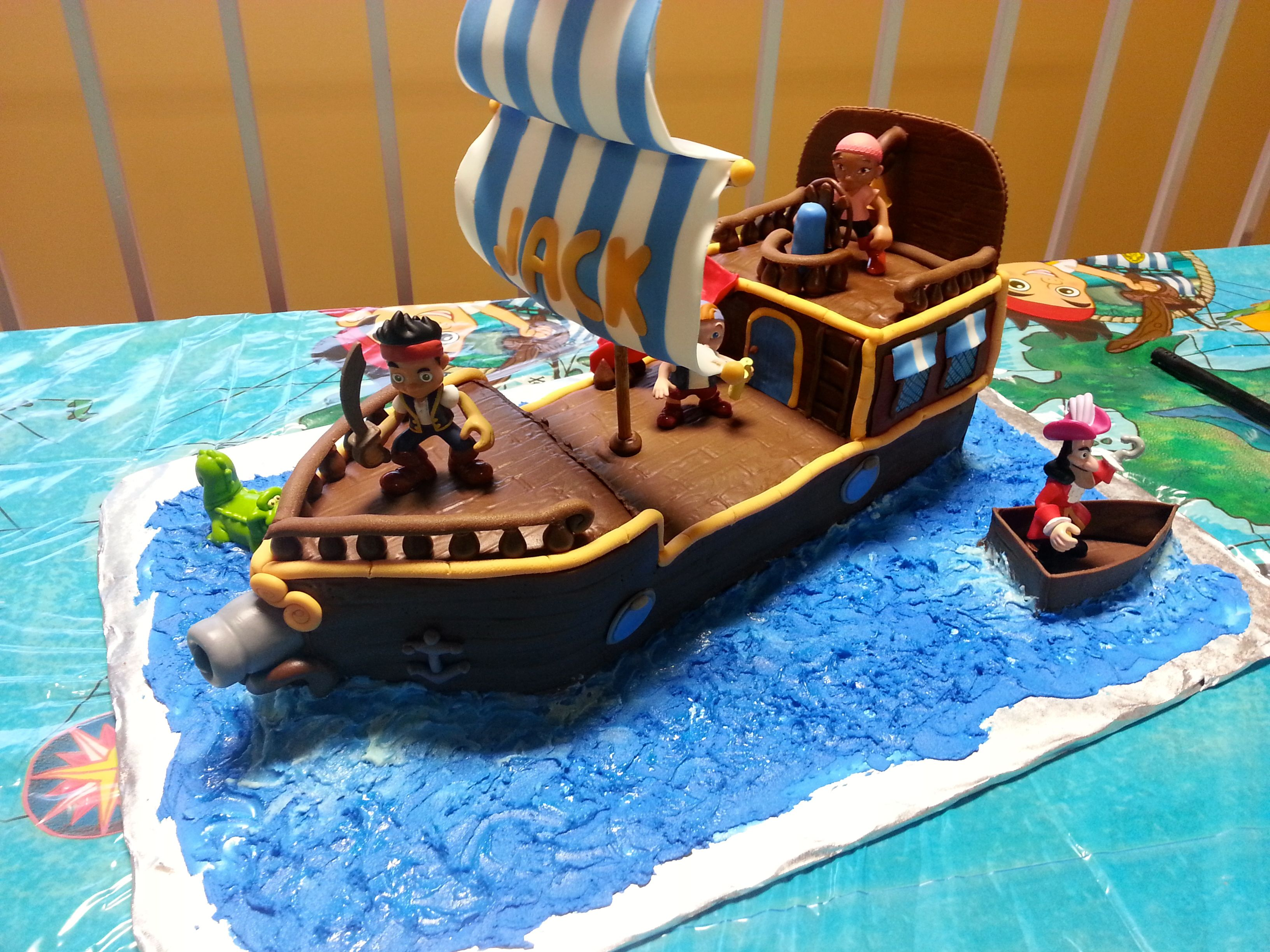 jake and the neverland pirates cake Jake and the Neverland Pirate