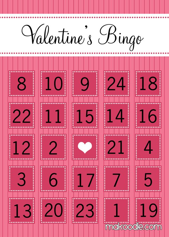 photograph relating to Printable Valentine Bingo Cards known as Cost-free Printable Valentines Working day Bingo Playing cards Be My Valentine