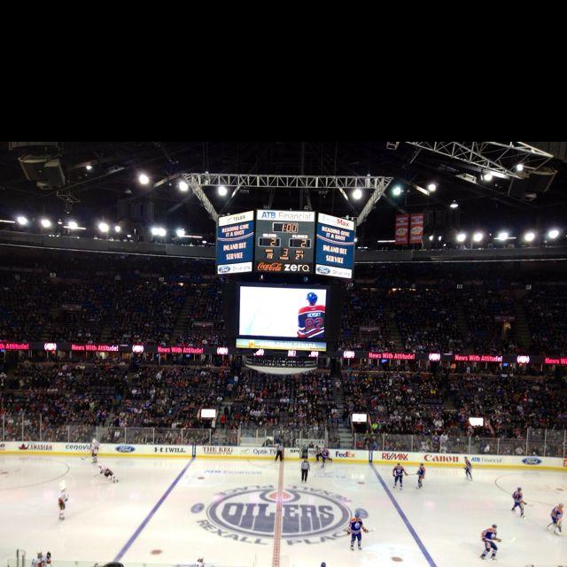 Oilers Rexall Place Hemsky 33 Hockey Arena Edmonton Oilers Oilers