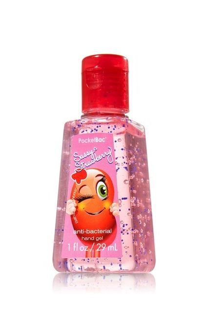 Sassy Strawberry Pocketbac Jelly Bean Collection Bath Body
