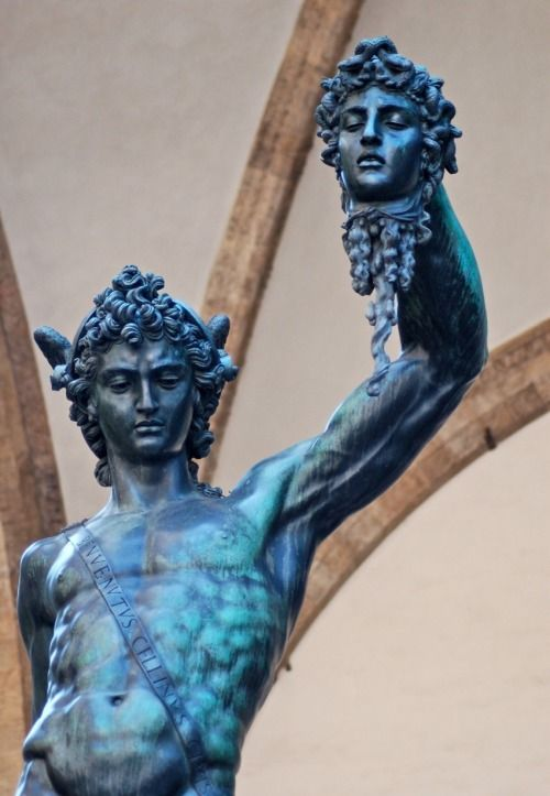 Perseus holding the severed head of Medusa. | Masterpieces ...  |Perseus With The Head Of Medusa Painting