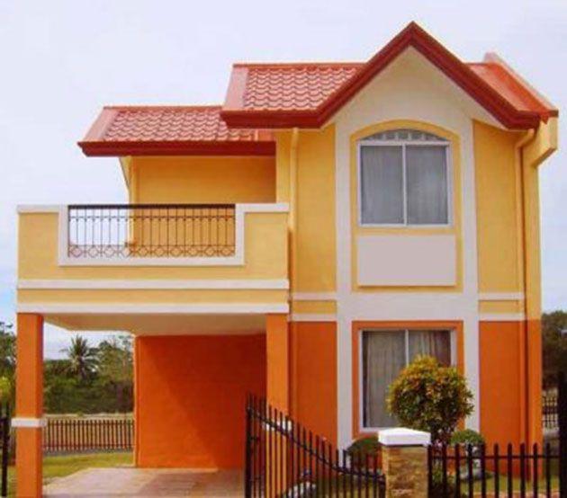 45 Fotos Y Colores Para Pintar Casa Por Fuera Casas Casas De Dos